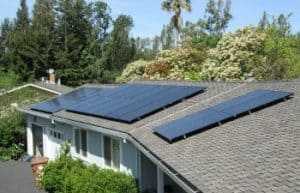 solar panels monterey home