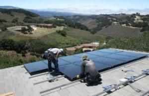 monterey solar installation