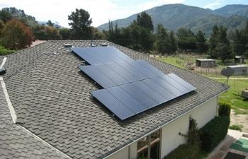 custom solar installation
