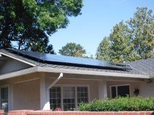 solar panels on fremont home